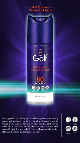 GOLF Multipurpose Disinfectant Spray 400 ML