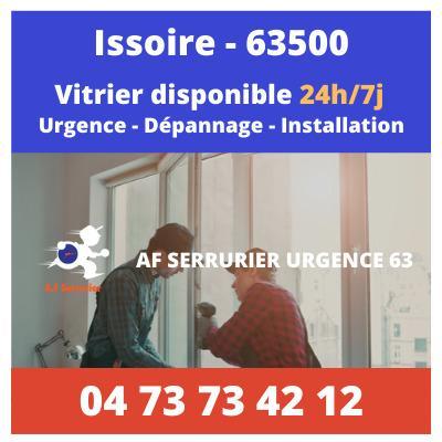 Vitrier sur Issoire – 24h/24 et 7j/7