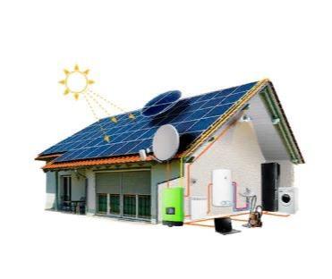 Солнечные станции для предприятий и частного дома.