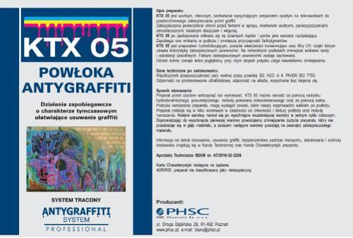 KTX 05 Powłoka Antygraffiti
