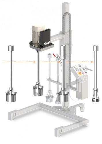 YSTRAL Multipurpose skaft-skiftesystem