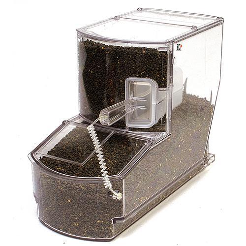 Hochwärtiger Schaufelbehälter Inklusive Schaufel, 17 Liter