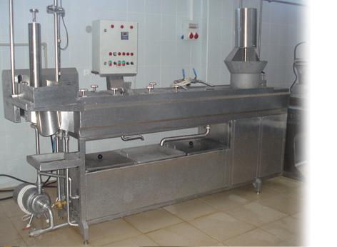 Processed Kashkaval Production Line (with water cooking meth
