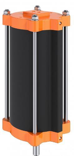 Cylindre linéaire pneumatique type SC
