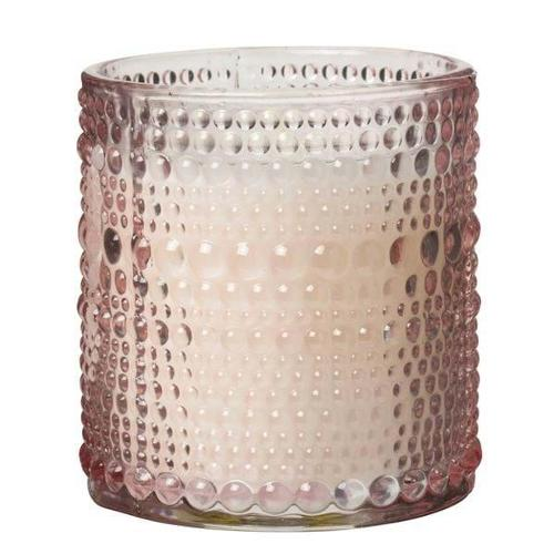 19243, Scented Candle Dot 7,2x8 Cm Light Pink 120g - Approx 25 Hours