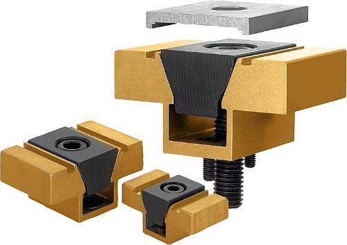 Dispositif de serrage prismatique double avec...