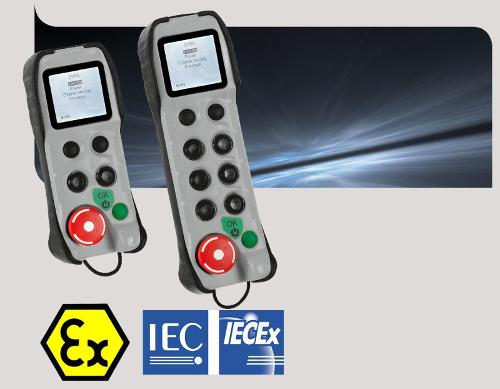 Bidirectional radio remote control ATEX IECEx