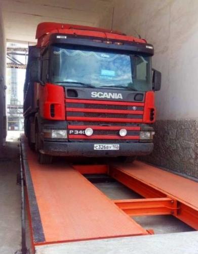 Balance pour véhicules