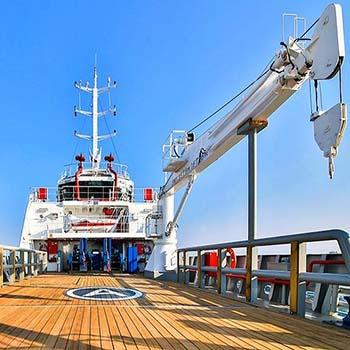 Marine Telescopic Boom Crane