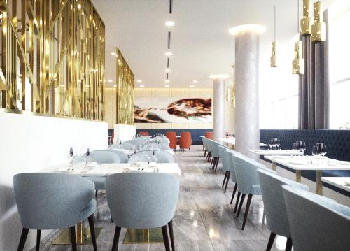 Interior design for restaurants, cafes and bars