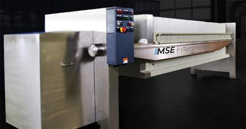 Filtre-presse en acier inoxydable