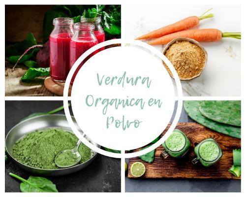 Verdura Organica en Polvo