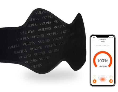 Vulpés KidneyBelt - intelligenter beheizbarer Nierengurt