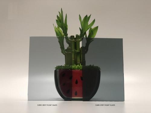 4-12mm Grey Float Glass