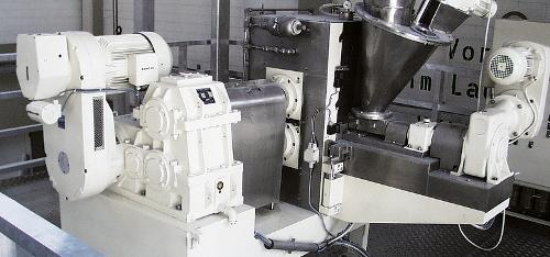Compaction / granulation Roll Compactor