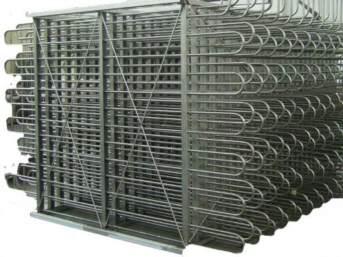 Coiled pipe heat exchanger