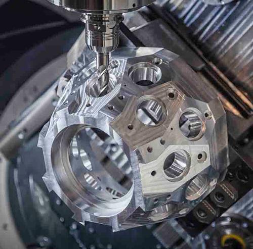 Maquinação CNC - Alumínio Técnico