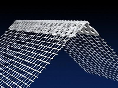 Renderplas PVC EWI corner bead 150 x 100mm mesh