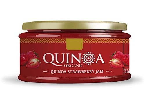 Mermelada de Fresa con Quinoa
