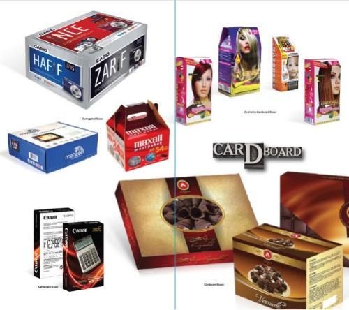 Karton ambalaj tasarımı ve üretimi