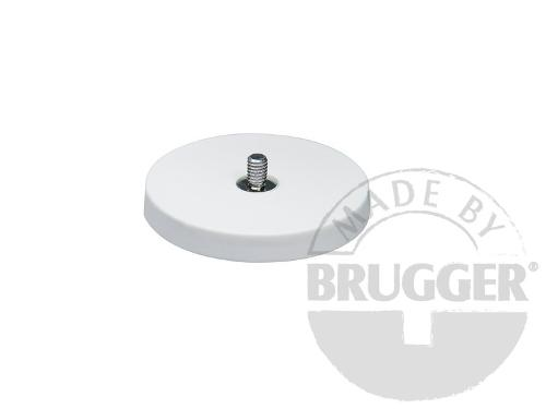 Magnet assembly, NdFeB, rubber coat white