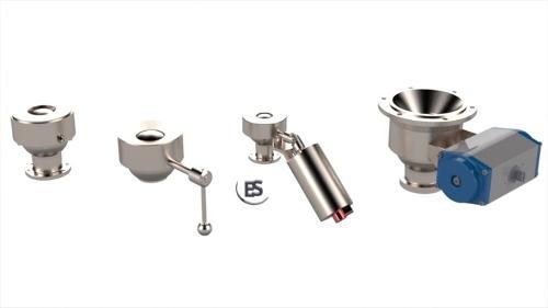 ESHB - Bodenablasskugelhahn/Tankauslaufventil