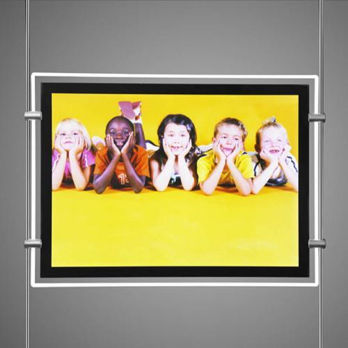 Backlit Window Display