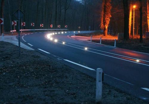 plot routier à led solaire
