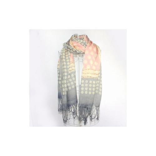 custom printed wool scarf