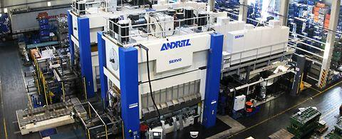 Mechanical stamping and metal forming presses