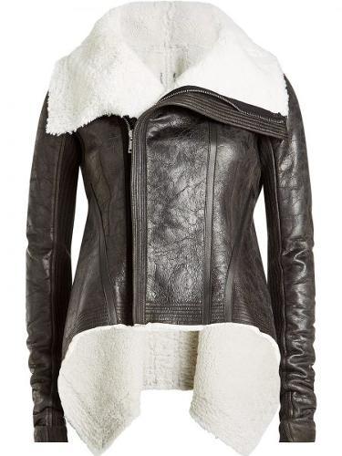 Women's Shearling Leather Jacket