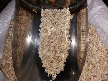 Instant oat flakes