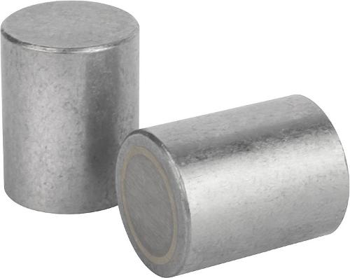 Aimant Cylindrique En Alnico Avec Diamètre Extérieur Calibré