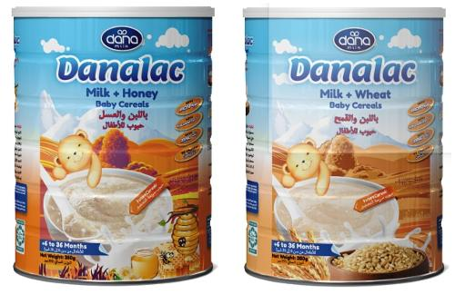 DANALAC Milk & Wheat, Milk & Honey