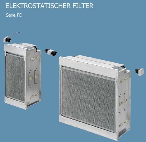 Elektrostatischer Filter als Alternative zu Gewebef
