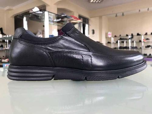 Мужская кожаная ортопедическая обувь Турция