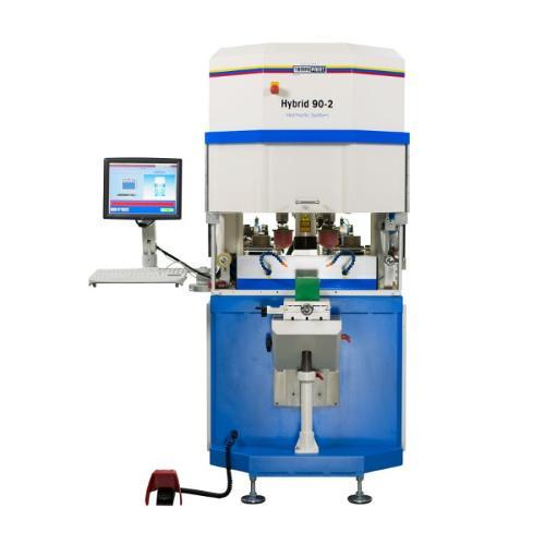 HYBRID Série de machines de tampographie