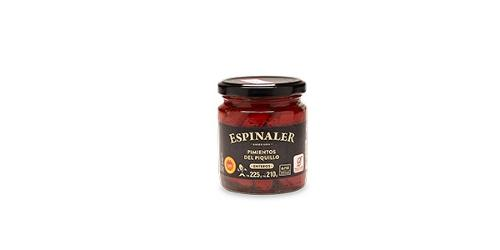 Lodosa Piquillo Peppers 225g- Espinaler