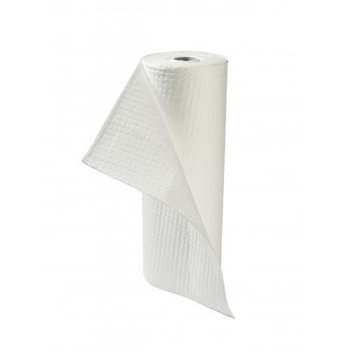 Absorbants hydrocarbures en rouleau blanc 76 cm*46 m