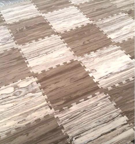 """Soft floor-puzzle """"Parquet"""""""