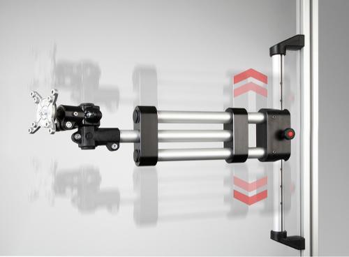 Brazos de soporte/brazos giratorios para soportes de monitor