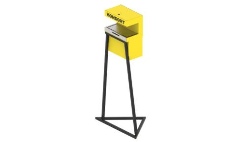 Сенсорный дезинфектор-стойка (автоматический дезинфектор)