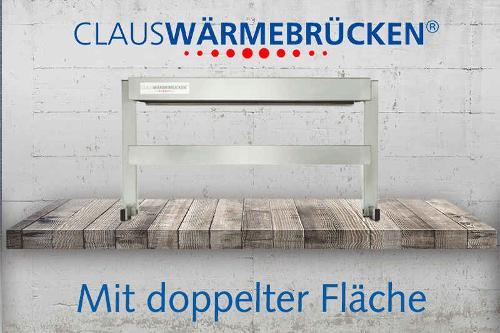 Claus warmm bridges with double surface