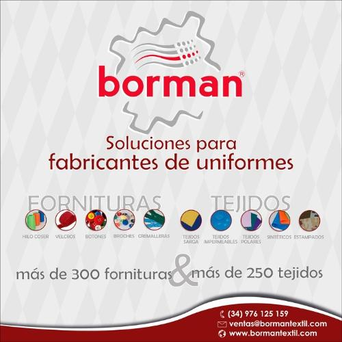 BORMAN INDUSTRIA TEXTIL