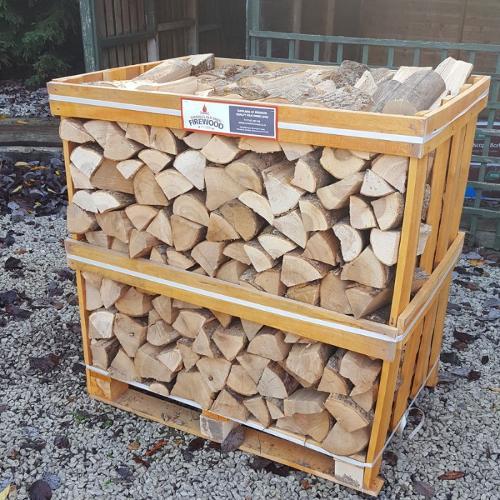 Ash, beech, oak, birch firewood logs 25-33cm long