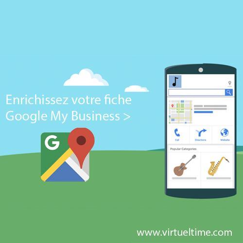 Visite virtuelle pour enrichir votre fiche Google My Busines