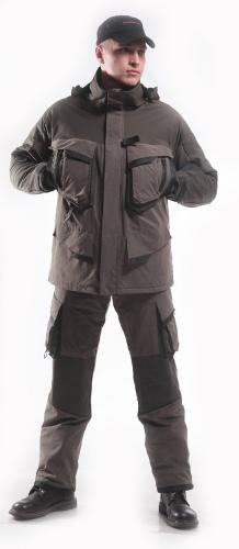 Schneeleopard Herrenanzug