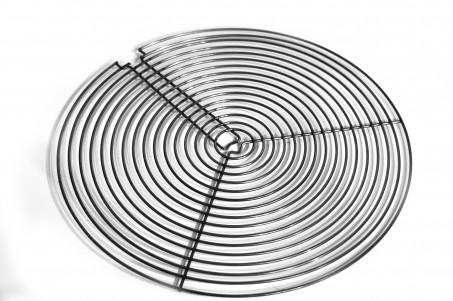 grille métal plate
