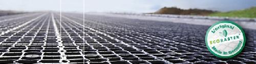Dalles ECORASTER® Stabilisation des sols agricoles
