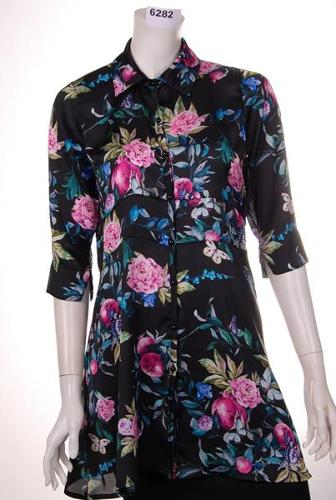 Jersey Dress  elastane printed